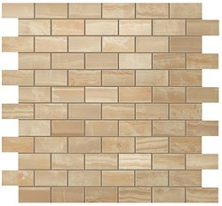 S.O. Royal Gold Brick Mosaic 30,5x30,5